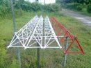 Pembuatan Menara Triangle Palur Karanganyar