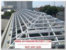 Pembuatan Baja Ringan Atap di Perumahan Ngringo Indah