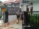 Proyek pembuatan kanopi carport di perum jati, jaten, karanaganyar