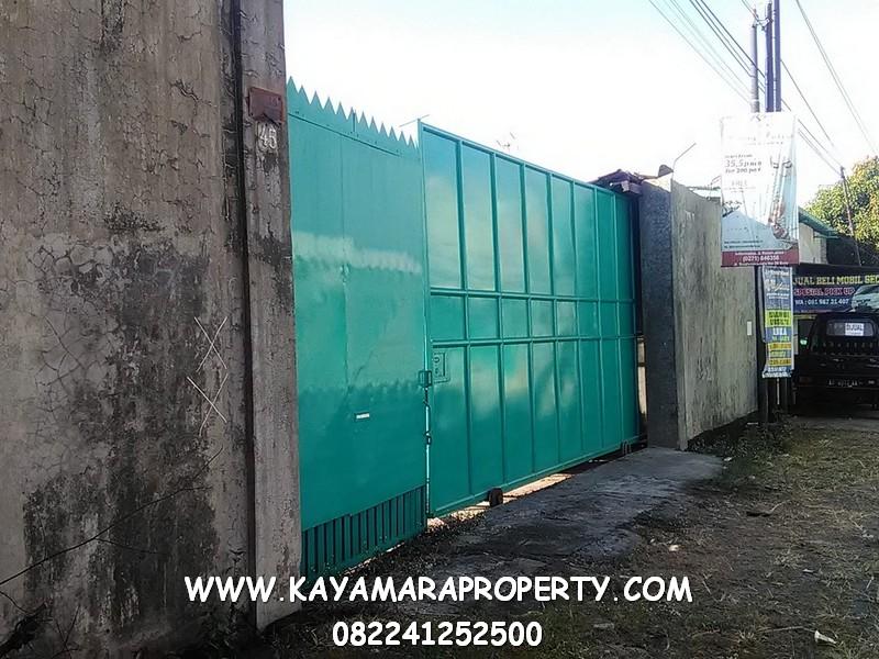 Pintu gerbang besi palur 006